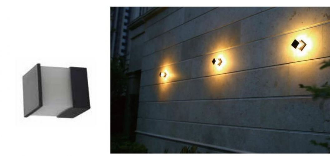 DESS LED WALL LIGHT 6500K GLDC1651 DG