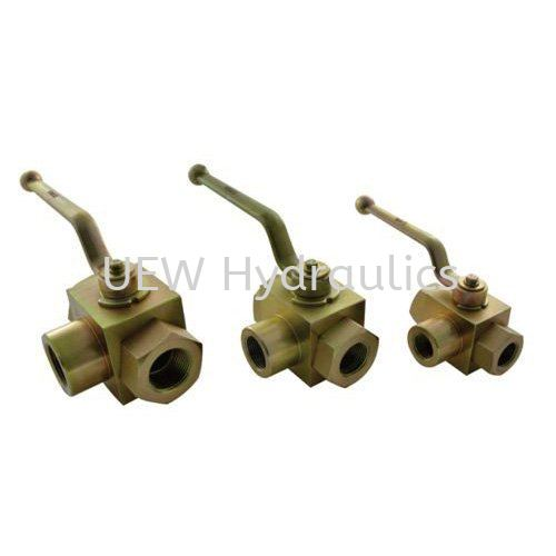 Hydraulic 3 Way Ball Valve Hydraulic Ball Valve Accessories & Parts Selangor, Malaysia, Kuala Lumpur (KL), Klang Supplier, Suppliers, Supply, Supplies | UEW Hydraulics & Engineering Sdn Bhd