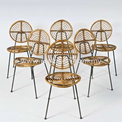 RATTAN DINING CHAIR OREO