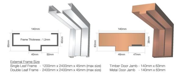 Fire Rated Door Fire Door Selangor, Penang, Malaysia, Kuala Lumpur (KL) Supplier, Manufacturer, Supply, Supplies | ADEL Marketing (M) Sdn Bhd
