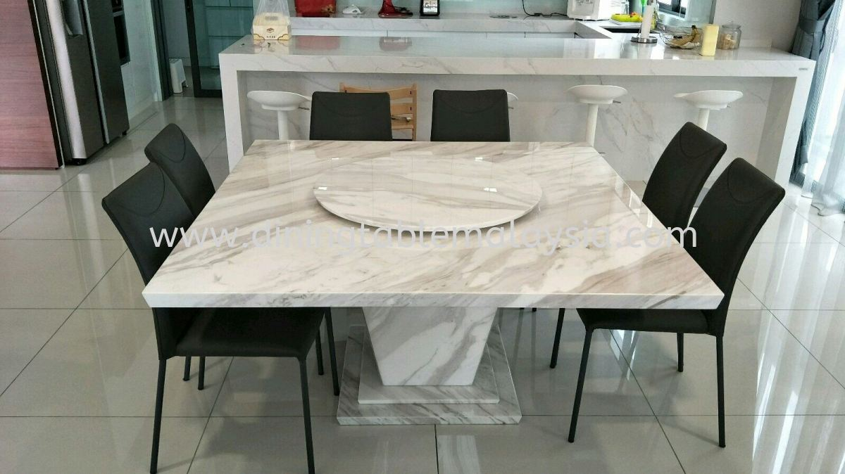 Square Marble Dining Table Volakas Marble Marble Dining Table Malaysia Selangor Supplier Wholesaler Decasa Marble