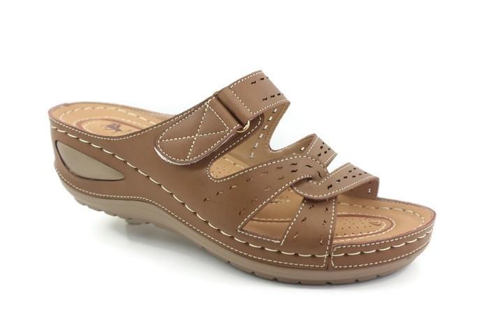 J51-5412 (Khaki) RM69.90 Comfort Shoes JJ Mastini Ladies Malaysia, Selangor, Kuala Lumpur (KL), Balakong Supplier, Suppliers, Supply, Supplies | JJ Mastini Sdn Bhd