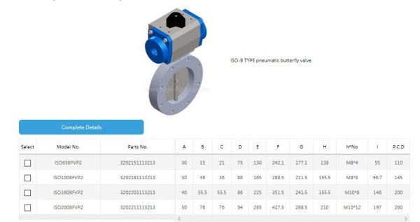 ISO-B TYPE pneumatic butterfly valve ISO-B TYPE pneumatic butterfly valve HTC Pneumatic Butterfly Valve Kuala Lumpur (KL), Malaysia, Selangor, Sri Petaling Distributor, Supplier, Supply, Supplies | Glovac Sdn Bhd