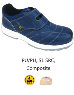 HS-354C NAVY BLUE ESD Safe Safety Shoes Malaysia Johor Bahru JB Singapore Supplier, Supply | Dou Yee Enterprises (S) Pte Ltd