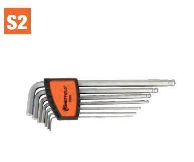 7 pcs Long Arm Ball End Hex Key Set (S050005) Hex Key Fastening Tools Handtools Malaysia Johor Bahru JB Singapore Supplier, Supply   Dou Yee Enterprises (S) Pte Ltd