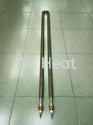 """""""AC Heat"""" Stainless Steel Air Finned Heater"""