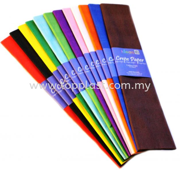 Crepe Paper Flower DIY Penang, Malaysia Supplier, Suppliers, Supply, Supplies | Top Plast Enterprise
