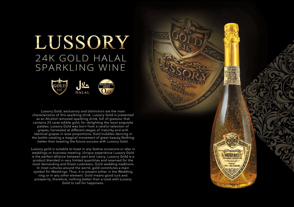 ESPORA Luxury Gold ~ non-alcoholic
