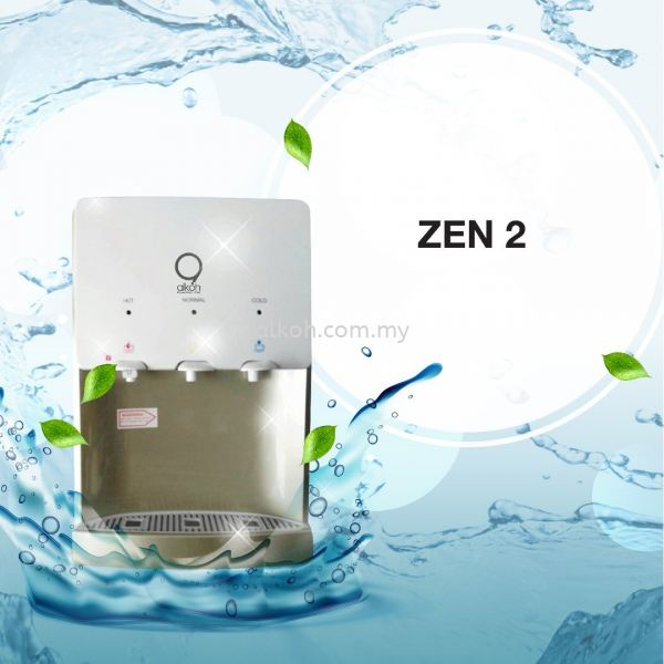 ZEN 2 Table Top - Direct Pipe-in Water Dispenser Johor Bahru (JB), Malaysia, Ulu Tiram Supply, Suppliers, Supplies | Alkoh Marketing Sdn Bhd