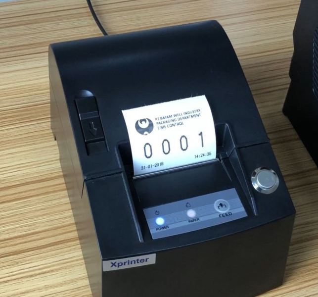 Queue Number Ticket Printer Demo Others Johor Bahru, JB, Johor, Malaysia. Supplier, Suppliers, Supplies, Supply | LEDA Technology Enterprise
