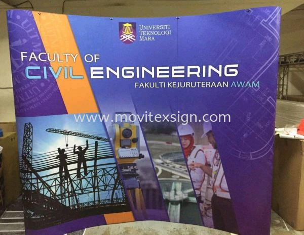 exhibition backdrop with fullcolor painting n design image and your products disply  Exhibition Johor Bahru (JB), Johor, Malaysia. Design, Supplier, Manufacturers, Suppliers | M-Movitexsign Advertising Art & Print Sdn Bhd