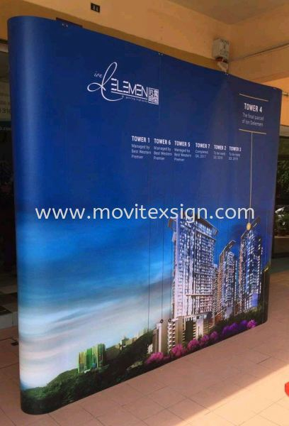 backdrop exhibition set to give your company a new image and your products disply  Exhibition Johor Bahru (JB), Johor, Malaysia. Design, Supplier, Manufacturers, Suppliers | M-Movitexsign Advertising Art & Print Sdn Bhd
