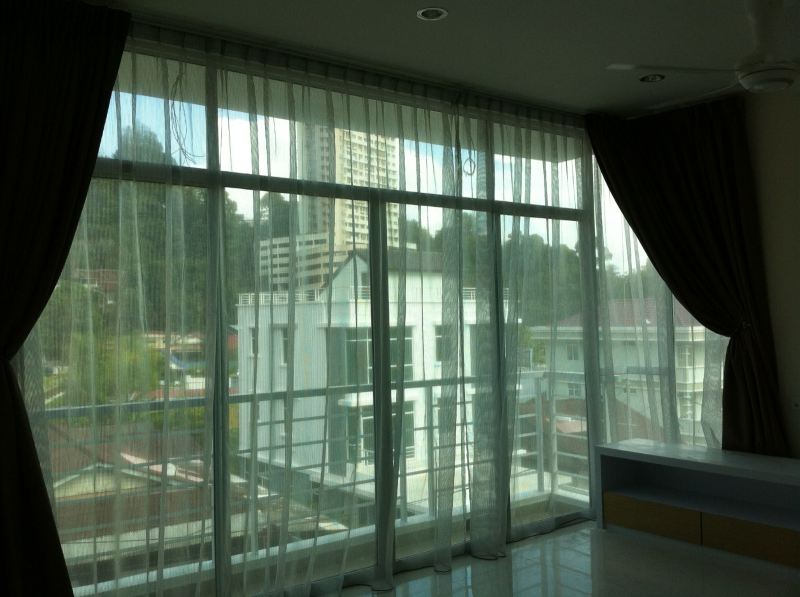 IMG_0381 Normal curtain with or without sheer Curtain Penang, Malaysia, Ayer Itam Supplier, Supply, Supplies, Installation | YK Curtain