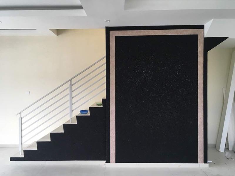 Plain Cotton Wall Design Wallpaper Alternative using Cotton Wall Selangor, Semenyih, Kuala Lumpur (KL), Malaysia Services, Repair, Contractor | Hin Construction Sdn Bhd