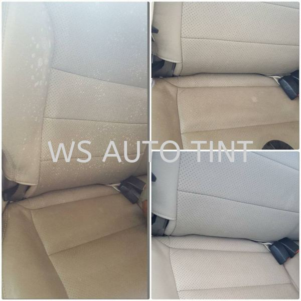 Clean Leather Seats Interior Cleaning Car Detailing Selangor, Malaysia, Kuala Lumpur (KL), Puchong, Sepang Service, Shop | WS AUTO TINT & SPA ACCESSORIES