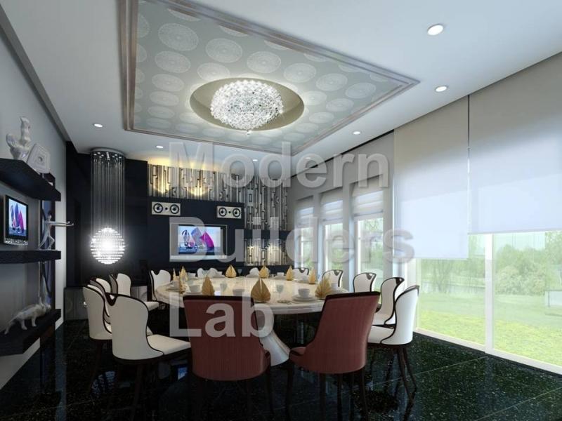 Private Dining Room Interior Design Dining Room Interior Design Kuala Lumpur (KL), Cheras, Selangor, Malaysia Service, Design, Renovation | Modern Builders Lab