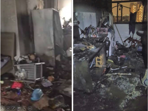Block 157, Serangoon North Avenue 1 fire left young couple with almost nothing