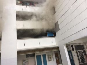 Fire at Jurong East flat sends 7 to hospital