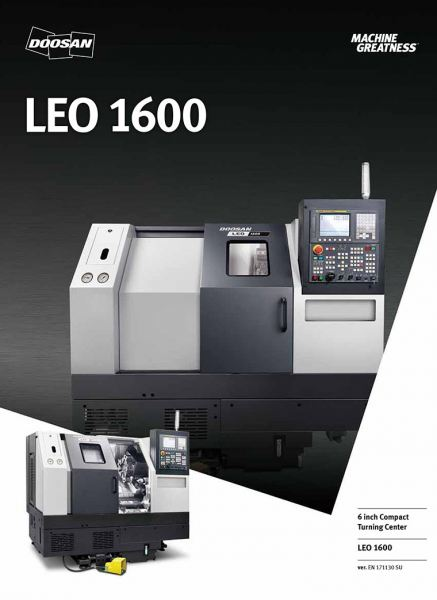 LEO1600 High-Performance Horizontal Compact Turning Center  DOOSAN MACHINE TOOL Johor Bahru (JB), Malaysia, Mount Austin Supplier, Servicing, Supply, Supplies | Promach Machinery Sdn Bhd