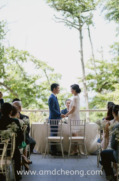Si Wei's Wedding Bridal Actual Day and Lunch/Night Singapore Service | Amanda Cheong Make Up Artist