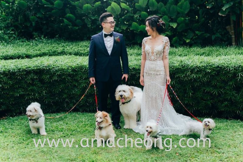 Styled shoot Pre-Wedding Photography Singapore Service | Amanda Cheong Make Up Artist