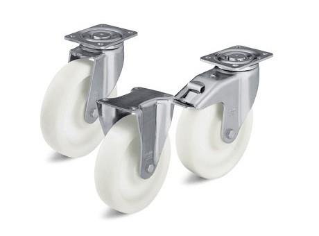 Pressed Steel Heavy Duty Castor, With HEavy Duty Nylon Wheel Blickle Castor Wheel Selangor, Malaysia, Kuala Lumpur (KL), Petaling Jaya (PJ) Supplier, Suppliers, Supply, Supplies   Further Advance Industries Sdn Bhd