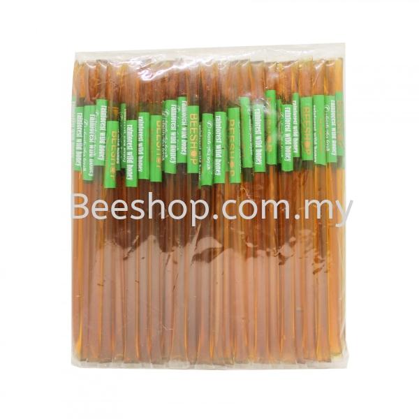 Rainforest Wild Honey Stick x 100 Sticks Raw Honey Stick Malaysia, Kulai, Johor Bahru (JB) Supply, Supplier, Suppliers, Wholesaler | Eco Bee Shop Sdn Bhd