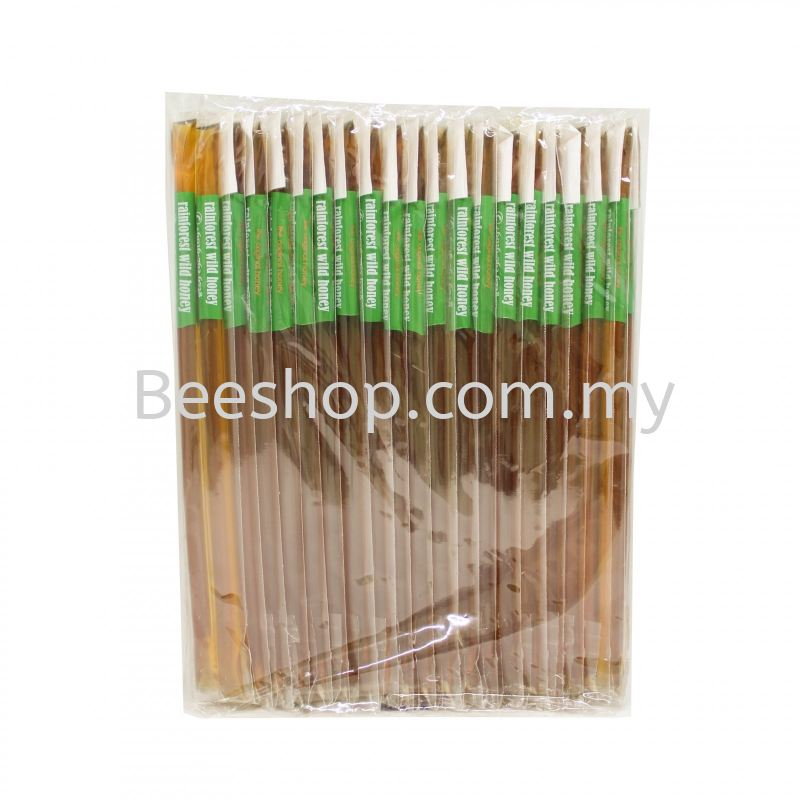 Rainforest Wild Honey Stick x 5 Sticks x 20 Packs