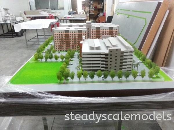 Asteria Gabungan Efektif Kuala Lumpur (KL), Malaysia, Selangor, Kepong Architectural, Building, Model | Steady Scale Models