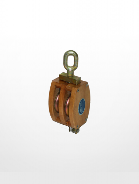 RE04) Wooden Block with Shivel Oval Eye (Double Sheave) Rigging Equipment Marine & Offshore Johor Bahru (JB), Johor, Malaysia Supplier, Suppliers, Supply, Supplies | KSJ Global Sdn Bhd