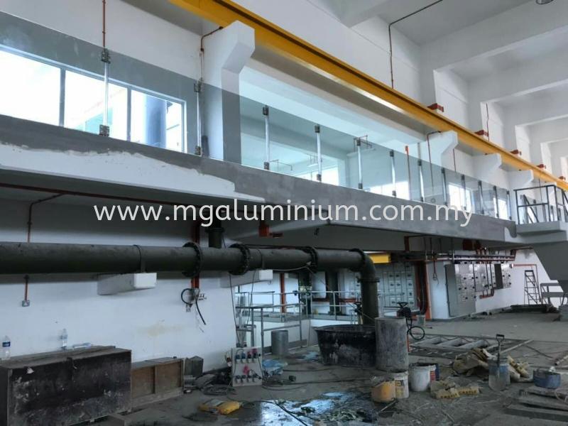 Project:Hulu Langat Banister Johor Bahru (JB), Johor. Design, Installation, Supply   MG Aluminium & Glass Works