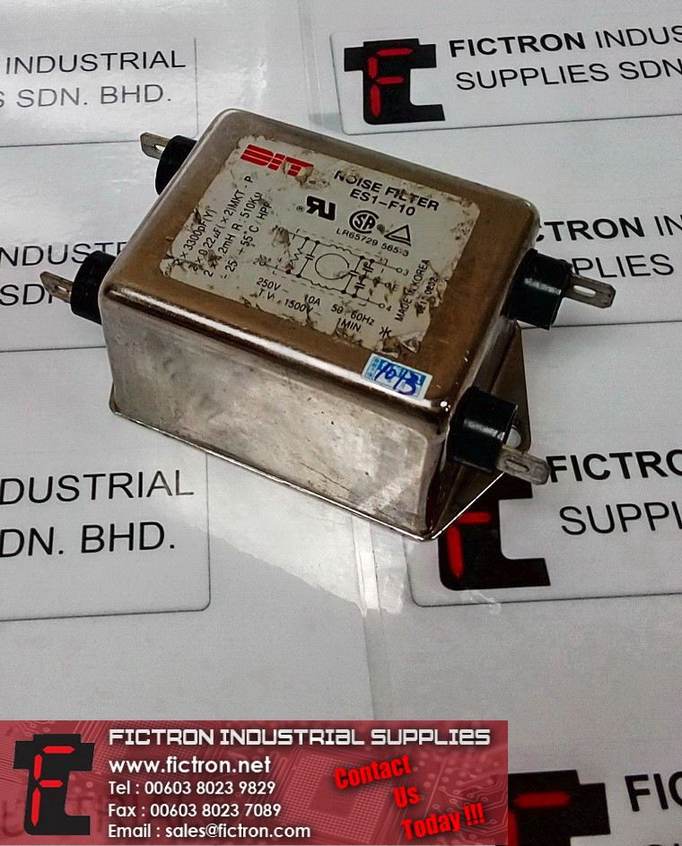 ES1-F10 ES1F10 BIT Noise Filter Sing-Phase General Purpose Supply By Fictron Industrial Supplies BIT Audio/Visual Devies Selangor, Penang, Malaysia, Singapore Supply, Supplier, Suppliers, Repair | Fictron Industrial Supplies Sdn Bhd