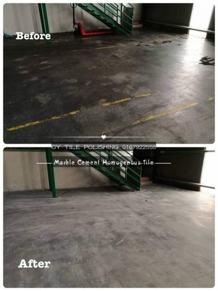 Cement Floor Grinding & Buffing Cement Floor Grinding & Buffing JB, Johor Bahru Grinding, Polished, Cleaning | CY Tile Polishing (M) Sdn. Bhd.