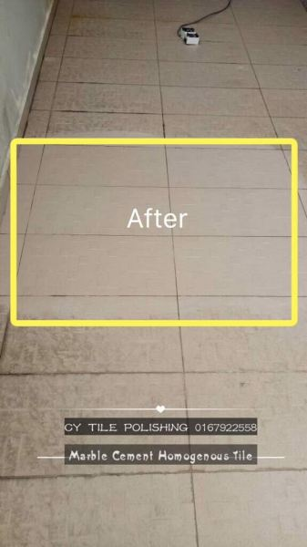 Cleaning Tile Cleaning Tile JB, Johor Bahru Grinding, Polished, Cleaning   CY Tile Polishing (M) Sdn. Bhd.