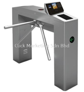 Tripod Turnstile Turnstile With Face Recognition and Fingerprint Installation Kuala Lumpur (KL), Selangor, Malaysia. Supplies, Supply, Suppliers, Supplier | Click Marketing Sdn Bhd