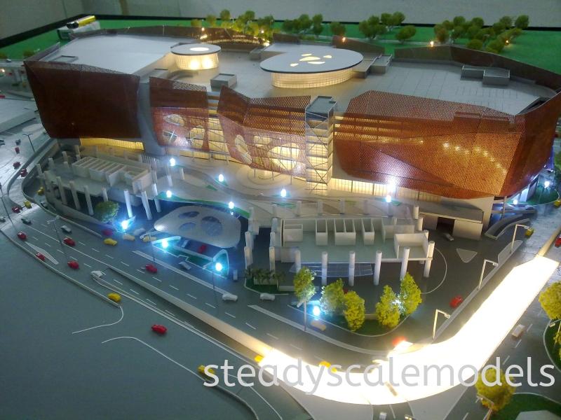 Jelas Puris Kuala Lumpur (KL), Malaysia, Selangor, Kepong Architectural, Building, Model | Steady Scale Models