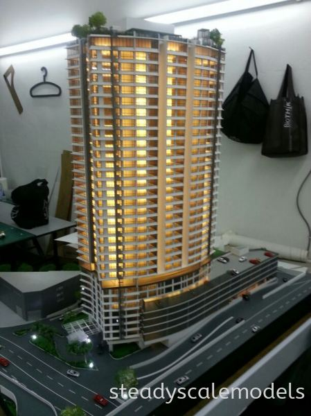 Jelas Puris Kuala Lumpur (KL), Malaysia, Selangor, Kepong Architectural, Building, Model | Steady Scale Models