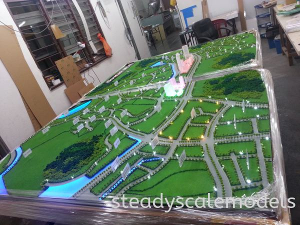 One Madini Kuala Lumpur (KL), Malaysia, Selangor, Kepong Architectural, Building, Model | Steady Scale Models