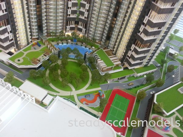 One Madini Kuala Lumpur (KL), Malaysia, Selangor, Kepong Architectural, Building, Model   Steady Scale Models