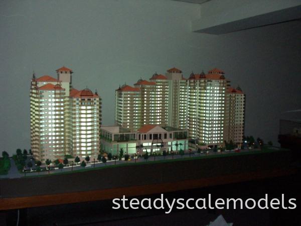 Wah Ching Development Kuala Lumpur (KL), Malaysia, Selangor, Kepong Architectural, Building, Model   Steady Scale Models