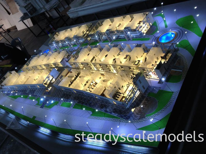 WCT Acres Kuala Lumpur (KL), Malaysia, Selangor, Kepong Architectural, Building, Model | Steady Scale Models