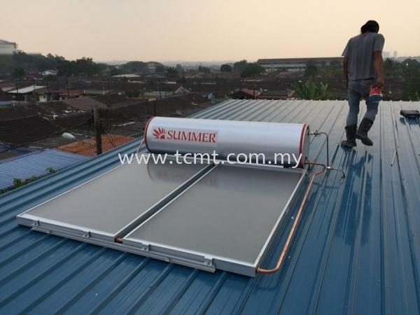Summer Solar Heater Solar water Heater Malaysia Johor Bahru JB Supply Suppliers | TC Marketing & Trading