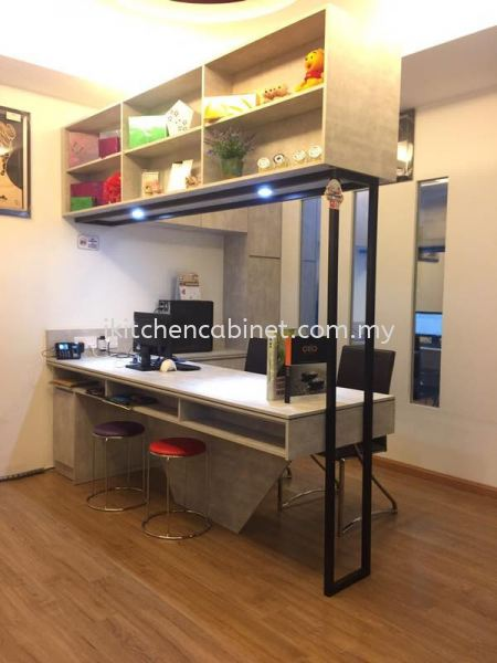 SD7 每 Study Table with Melamine Board Study Cabinet Selangor, Malaysia, Kuala Lumpur (KL), Puchong Supplier, Suppliers, Supply, Supplies   i-Kitchen Cabinet Sdn Bhd