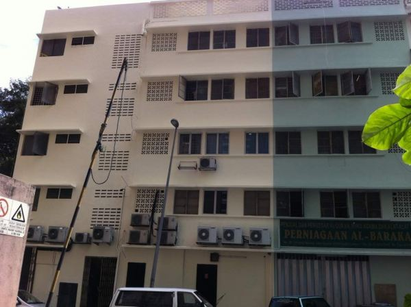 Commercial Building @Puchong Exterior Painting For Commercial Building Building Painting Service Kuala Lumpur, KL, Selangor, Malaysia. Painting Service, Contractor, One Stop | Xiang Sheng Construction