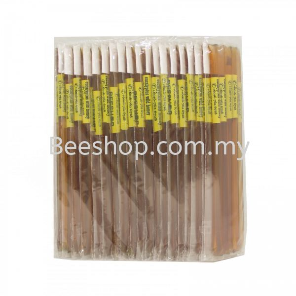 Eucalyptus Wild Honey Stick x 5 Sticks x 20 Packs Raw Honey Stick Malaysia, Kulai, Johor Bahru (JB) Supply, Supplier, Suppliers, Wholesaler | Eco Bee Shop Sdn Bhd