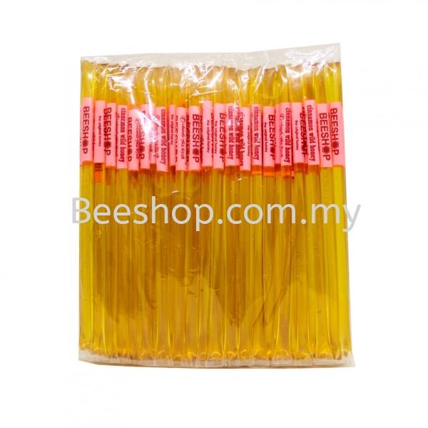 Cinnamon Wild Honey Stick x 100 Sticks Raw Honey Stick Malaysia, Kulai, Johor Bahru (JB) Supply, Supplier, Suppliers, Wholesaler | Eco Bee Shop Sdn Bhd