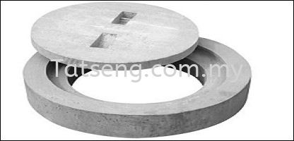 Compressed Concrete Manhole Cover Compressed Concrete Manhole Cover Selangor, Malaysia, Kuala Lumpur (KL) Supplier, Suppliers, Supply, Supplies   TAT SENG TRADING SDN BHD