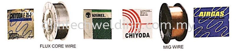 Flux Core Wires, MIG Wires, Aluminium Wires, Stainless Steel Mig Wires WELDING CONSUMABLES Selangor, Malaysia, Kuala Lumpur (KL), Shah Alam Supplier, Supply, Rental, Repair | Aim Tech Welding System Sdn Bhd