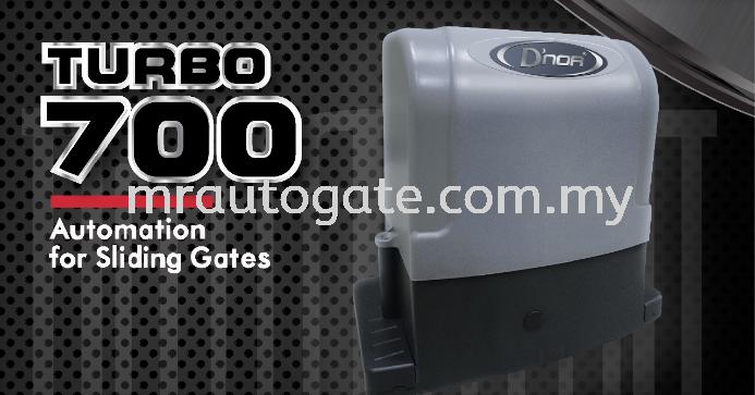 D'NOR Turbo 700 DC Sliding Motor D'NOR Sliding Auto Gate D'NOR AUTO GATE Kuala Lumpur (KL), Johor Bahru (JB), Malaysia, Selangor, Sarawak, Kepong Supplier, Supply, Supplies, Installation   Mr AutoGate Automation