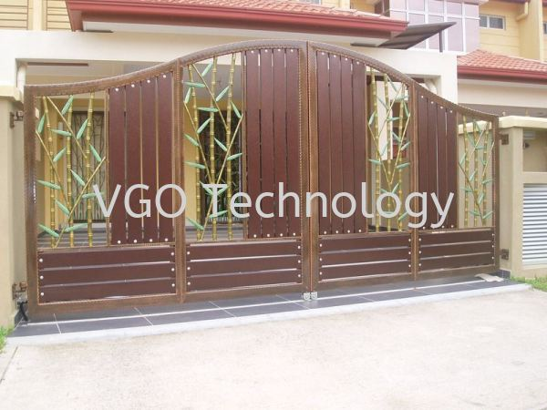 Wrought Iron Gate Penang, Butterworth, Malaysia System, Supplier, Supply, Installation | VGO Technology